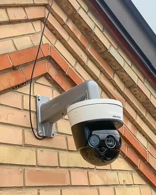 8-32 Megapixel 180° Baustellen-Webcam